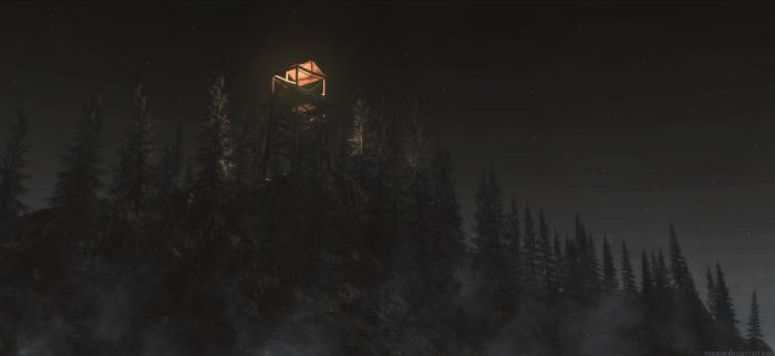 Firetower by Minaus