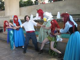Otakon 2013 - The little mermaid cosplay by AdversusZero