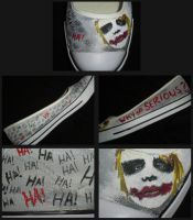 The Joker Shoe by ChemicallyUsed