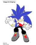 Shotgun the Hedgehog by LMFAO12345