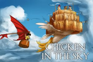 Chicken in the Sky by Conicer