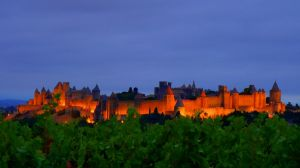 Carcassonne city by Azagh