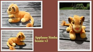 Applause Simba beanie V2 by Laurel-Lion
