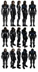 Mass Effect 3, Ashley - Armoured - Ref. by Troodon80