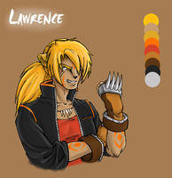 Lawrence Sketch, Ponytail by Tomecko