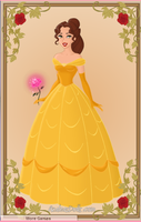 Belle (Tale as Old as Time) by VampKissLJ