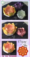 Origami Love- Lotus by RKdesign1314
