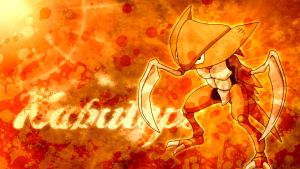 Kabutops : Widescreen by applejackles