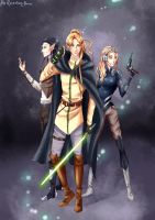Elves jedis by Rina-from-Shire