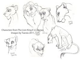 Lion King SketchDump by Truro