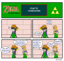 The School of Zelda - 01 by Mortdres