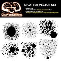 Hi-Res Splatter Brushes by choppre