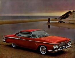 After the age of chrome and fins : 1961 Plymouth by Peterhoff3