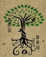 Yggdrasil   -The World Tree- by Duende14