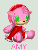 Plushie Collection: Amy Rose by WingedHippocampus