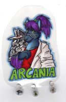 Arcania Charms Badge by hollyann