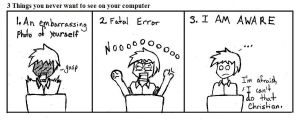 Computer Fails by Anime0Master