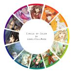 Color Wheel by LonelyFullMoon
