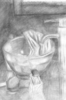Art Assignment 3--bathroom by PacWoman