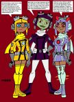 Attea and the Flying Gals by VectorMagnus2011