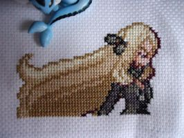 Cross stitch Cynthia by Miloceane