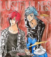 Bleach and DGM - Lustfullness by NemesiHouseburns