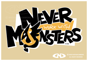 Never Work With Monsters - Logo by DoNotDelete
