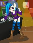 Vinyl Scratch - Equestria Girl by Fundz64