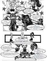 Lettering Thursday night fight page 4 by TheNormal1