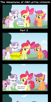 The Adventures of CMC: Getting cutiemark Part 2 by BraveMoonGirl