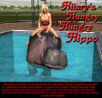 Hilary's Hungry Hungry Hippo by Voremantic