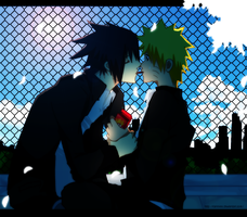 SasuNaru : just a taste: by Ranniiee