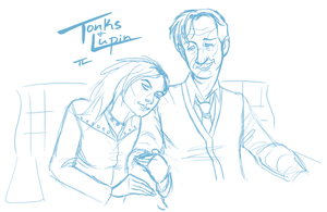 Tonks and Lupin, Unfinished by tree27