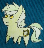 Lyra Heartstrings Paper Kid by World-Detective-L