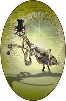 Steampunk Mantis by Dithpicable