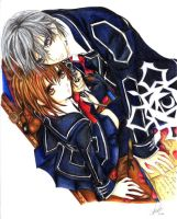 Vampire Knight: Yuuki and Zero by Liamx7