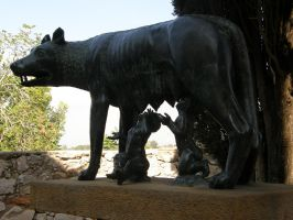 Spain T31 Romulus and Remus II by Gwathiell