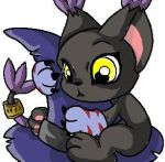 Black Gatomon by YukinaHalliwell