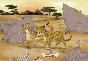 Of Cheetahs and Mice... by StarlightsMarti
