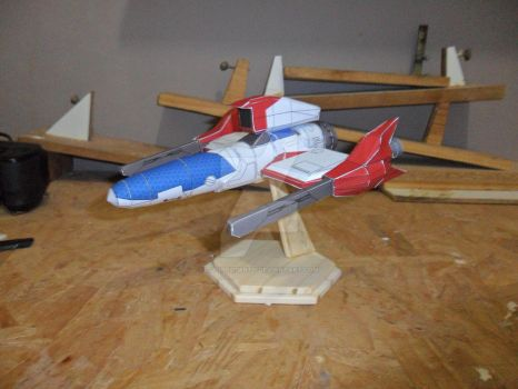 Thuder Force 4 papermodel 02 by tulioroberto