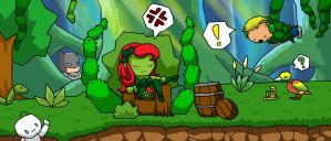 Poison Ivy (Scribblenauts Contest Entry) by ShinyGazza