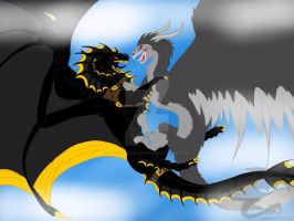HTTYD:TSR-A Wild Icefang Appears by BlackDragon-Studios