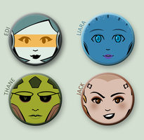 Mass Effect buttonz 2 by Crono8
