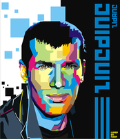 Zinedine Zidane Pop Art by ndop
