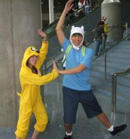 Finn and Jake by Wolf-Shadow77