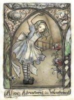 Alice's Adventures in Wonderland by ejbeachy