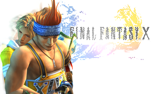 Tidus x Wakka Wallpaper by Zigge13