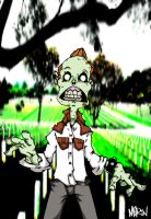Psychobilly Zombie by DepartmentM