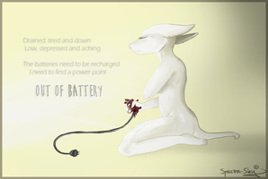 Out of Battery by Spectra-Sky