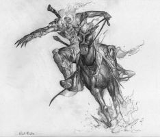 Hell Ride - Sketch by cmalidore